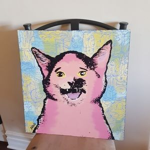 UO Cat Hanging  Wall Art
